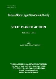 State Plan of Action - Tripura