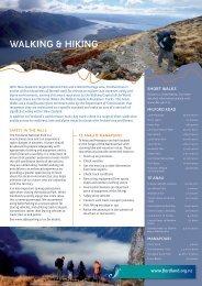 walking & hiking