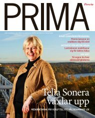 Telia Sonera växlar upp - Previa
