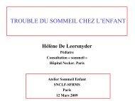 LE SYNDROME DE L'X FRAGILE - SFRMS