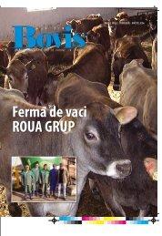 Ferma de vaci ROUA GRUP