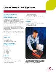 UltraCheck® M System (pdf) - AREVA NP Inc.