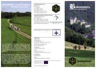 Burgenweg-Flyer - Frankenwaldverein