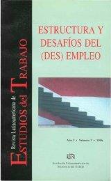 ESTRUCTURA Y DESAFIOS DEL (DES) EMPLEO - RELET