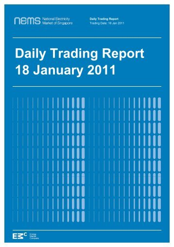 Daily Trading Report 18 January 2011 - EMC