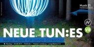 Neue Musik für junge Streicher - Musik 21 Niedersachsen 2008-2011
