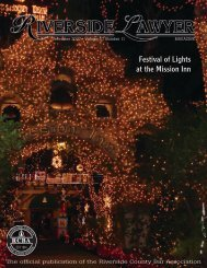 Festival of Lights at the Mission Inn - Riverside County Bar Association