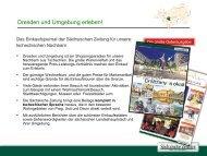 Dresden und Umgebung erleben!