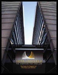 Case Statement - University of Iowa Foundation