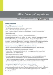 stem recommendations130613.indd - Chief Scientist for Australia