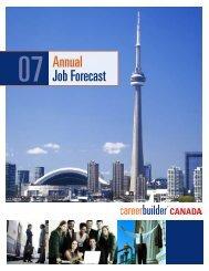 07 Annual Job Forecast - Icbdr