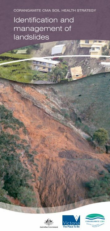 Identification and management of landslides - Corangamite ...