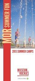 Summer Camp Brochure - Museum of the Rockies