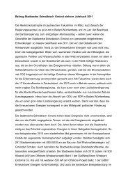 Beitrag Stadtwerke Schwäbisch Gmünd einhorn Jahrbuch 2011 Die ...