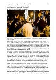 Ilan Pappe Israels selbstgerechte Wut in Gaza und ihre Opfer 1/4 ...