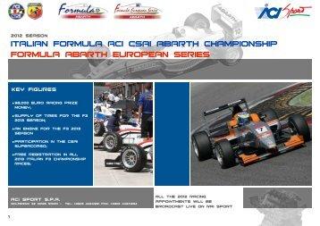 Presentation 2012 - ACI Sport Italia