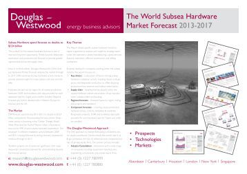 The World Subsea Hardware Market Forecast 2013-2017 - Douglas ...