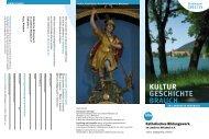 KuLtur GeSchIchte BrAuch - Katholisches Bildungswerk im ...