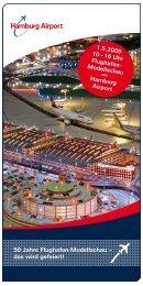 50 Jahre Flughafen-Modellschau -; das wird gefeiert! 1.5.2009 10 ...