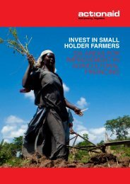 Uganda: Six Areas for Improvement in Agricultural ... - Curtis Research