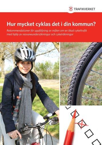 Hur mycket cyklas det i din kommun? - VTI