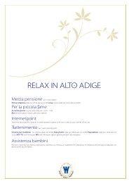 RELAX IN ALTO ADIGE - Winklerhotels