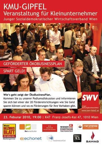 KMU-Gipfel - Junger Wirtschaftsverband