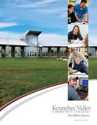 Your Path to Success - Kennebec Valley Community College