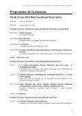 Programme et Volume des résumés - Page 4