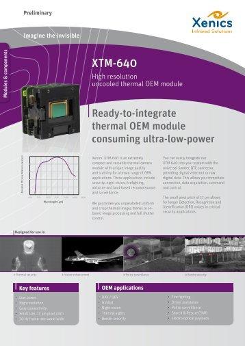 XTM-640 - XenICs