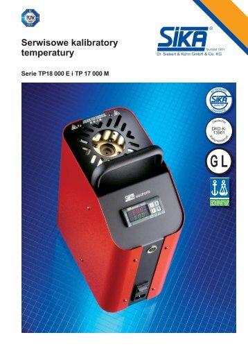 Serwisowe kalibratory temperatury - TECHNICON Sp. z oo