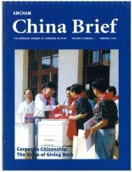 ' China Brief - AmCham China