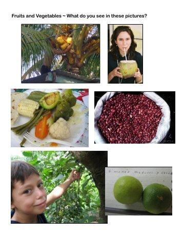 Food Pictures - Partners with El Salvador