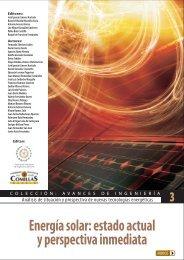 Energía solar - Universidad Pontificia Comillas