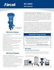MIS Series - Mist Eliminator - Fluid Energy