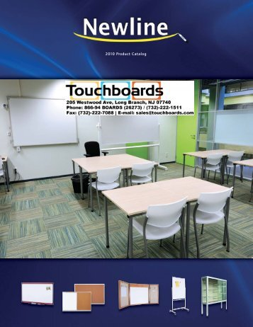 2010 Product Catalog - Touchboards