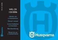 WR, CR 125/2006 - Husqvarna