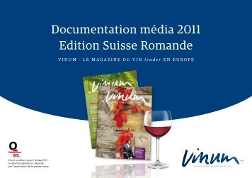 Documentation média 2011 Edition Suisse Romande