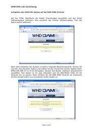 DAM KNX Link Einrichtung - WHD