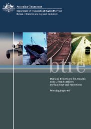 PDF: 5546 KB - Bureau of Infrastructure, Transport and Regional ...