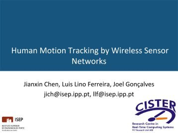 Human Motion Tracking By Wireless Sensor Networks