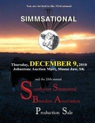 Simmsational Swest catalog.indd - Transcon Livestock Corporation