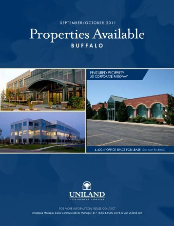 Properties Available - Buffalo Niagara Enterprise