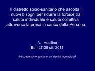 Relazione Ambrogio Aquilino