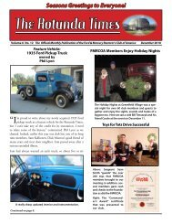 December 2010 - Ford & Mercury Restorers Club of America