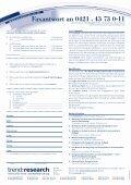 Der Markt für Wärmedämm- stoffe in Deutschland - trend:research - Seite 4