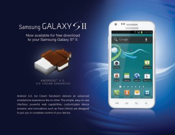 Now available for free download to your Samsung ... - US Cellular