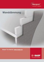 Neopor Anwendungsbroschüre: Wanddämmung - BASF.com