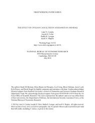 The Effect of Civilian Casualties in Afghanistan and Iraq - Offnews.info