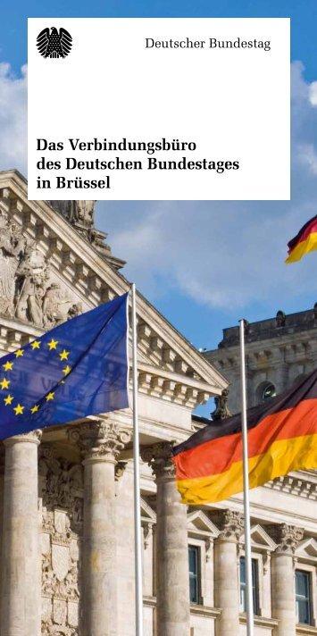 Das Verbindungsbüro des Deutschen Bundestages in Brüssel